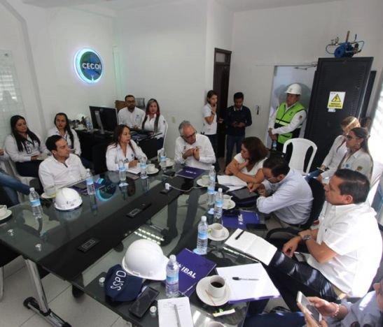 Con gerente suspendido y la incertidumbre sobre el Acueducto Complementario, el IBAL recibió visita de la Superservicios