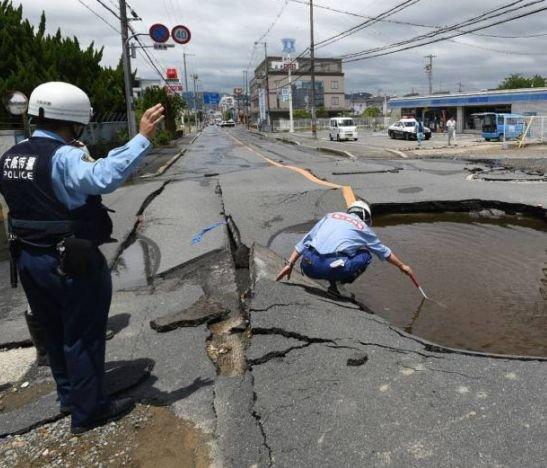 Un terremoto de 6,1 en Japón deja al menos tres muertos y decenas de heridos