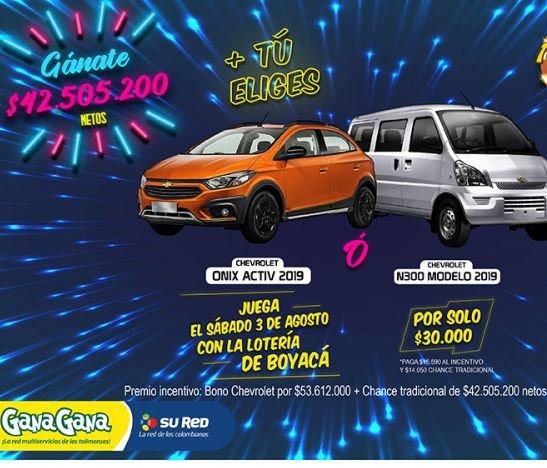 Con GanaGana, vamos a estrenar camioneta + $42.505.200 ¡tú eliges!