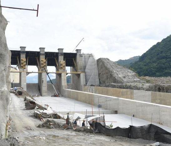 Culmina la construcción del vertedero de Hidroituango