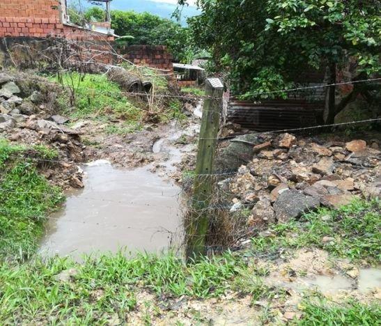 Se desbordó nuevamente la quebrada El Botadero en Villarrica