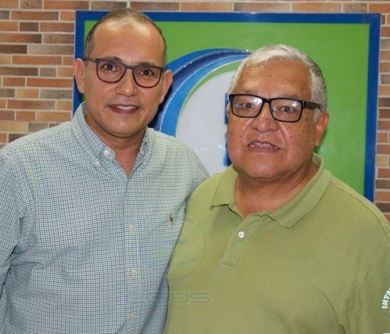 Presidente del Concejo de Ibagué, William Rosas y el experto José Helí Torres