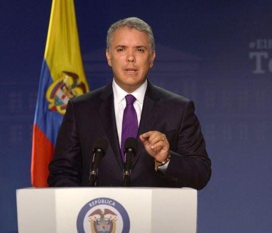 """""""Los pueblos que defendemos la democracia en América Latina y el Continente tenemos que pedir que Venezuela se libere de la dictadura"""": Duque"""