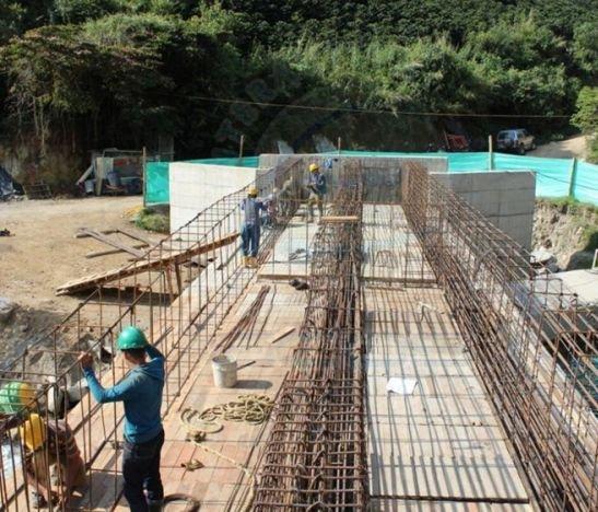 En un 80% va la construcción del puente de China Alta en zona rural de Ibagué