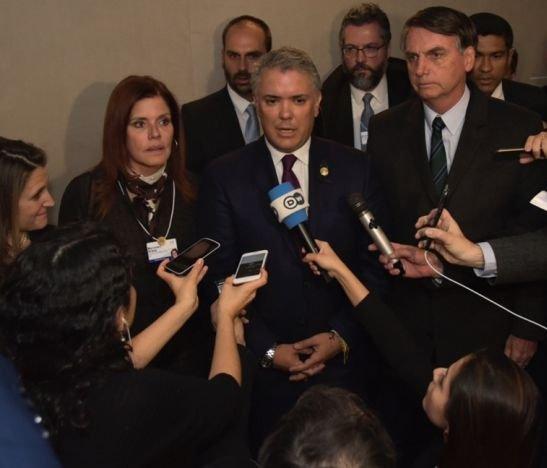 HD- Rueda de prensa Duque sobre Venezuela-23 de enero