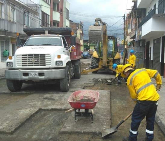 Actividades de pavimentación podrían afectar la movilidad en el centro de la ciudad