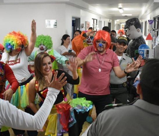 Una tarde con Ecos de sonrisas en la Unidad Oncológica del Hospital Federico Lleras Acosta