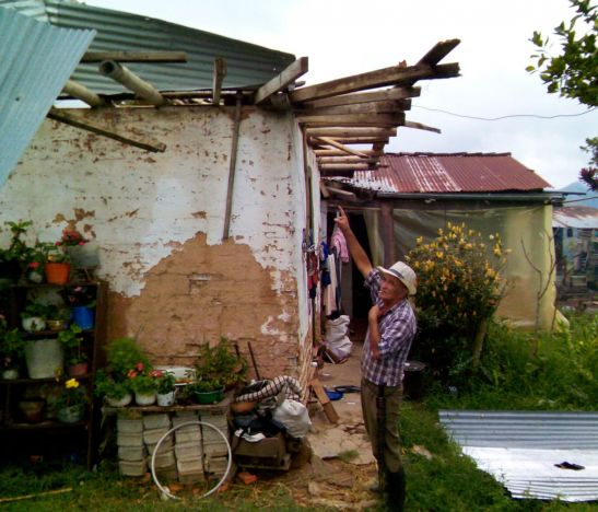 """""""Hemos registrado fuertes lluvias que han dejado cerca de 35 familias afectadas"""": Fredy Torres sobre granizada en Villahermosa"""