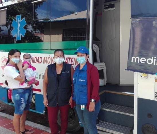 Medimás continúa trabajando con las brigadas de salud en los barrios del departamento del Tolima