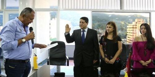Posesión de Alonso Parras-SAGER- archivo