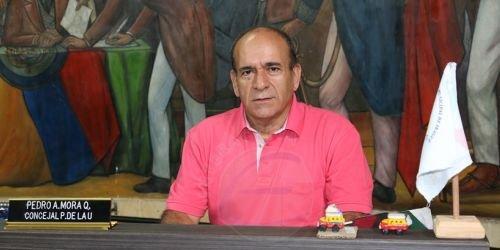 Concejal Pedro Mora, 2018