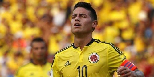 James Rodríguez, Selección Colombia, 2018