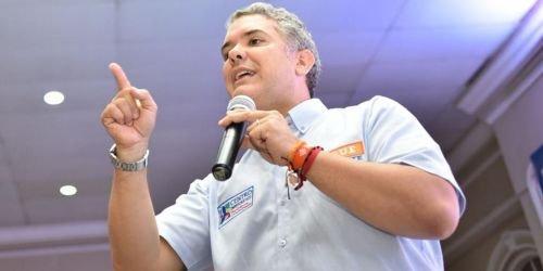 Iván Duque, Centro Democrático, 2018