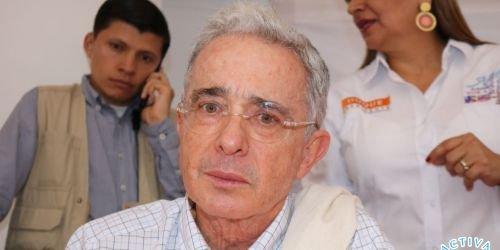 Álvaro Uribe Vélez, Centro Democrático, 2018