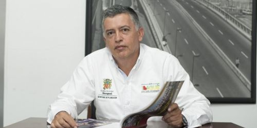 Secretario de Planeación de Ibagué, Héctor Eugenio Cervera,