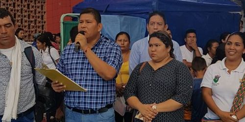 Jesús Alberto Manios, alcalde de Natagaima, 25 de junio