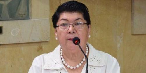 Ernestina Rodríguez, líder de los tenderos en Ibagué