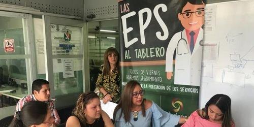 Reunión de EPS, firma del pacto Tolima