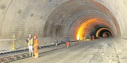 Túnel de la Línea HD 13 de julio