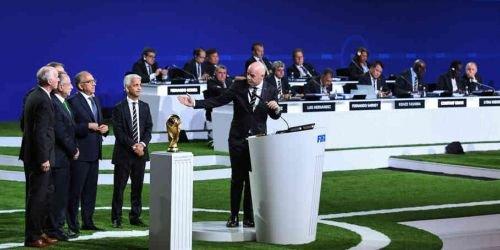 68º Congreso de la FIFA. 13 Junio 2018