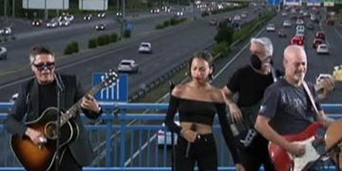 Sorpresa en el puente