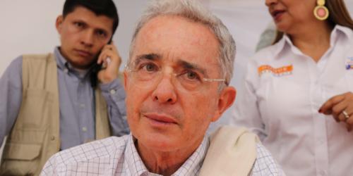 Álvaro Uribe Vélez, Centro Democrático, Ibagué, 2018.