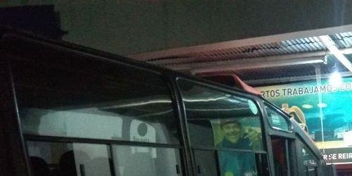 Camara de seguridad bus Ibagué