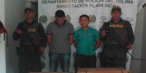 Capturados Playarrica