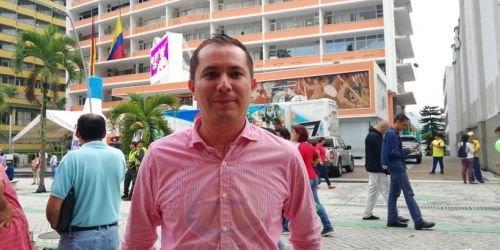 Carlos Quiroga, HD, secretario de Ambiente y Gestión del Riesgo del Tolima, 9 de julio