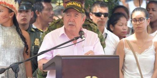 HD-Guillermo Botero, ministro de Defensa-10 de noviembre
