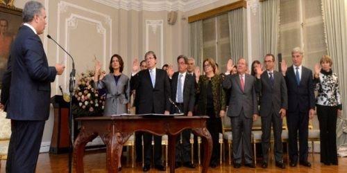Posesión de nuevo gabinete nacional HD 8 de agosto