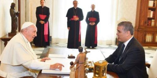 HD Papa Francisco e Iván Duque 22 de octubre