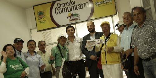 Comedor Comunitario, Loteria del Tolima, Alcaldia y GanaGana