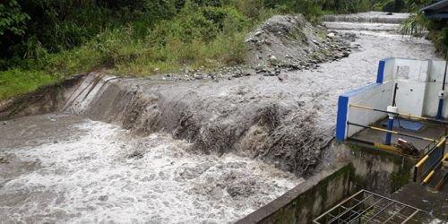 HD- Río Combiema Caudal-12 de enero