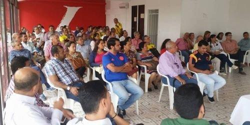 Director PartidoLiberal de Ibagué reunión 1 de junio 2018