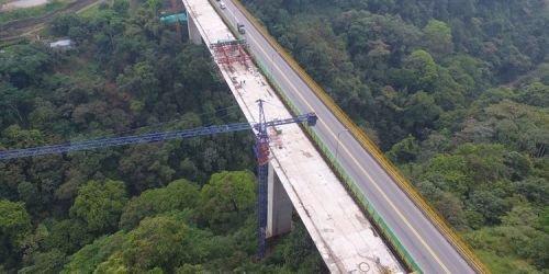 Segundo viaducto del puente de la variante