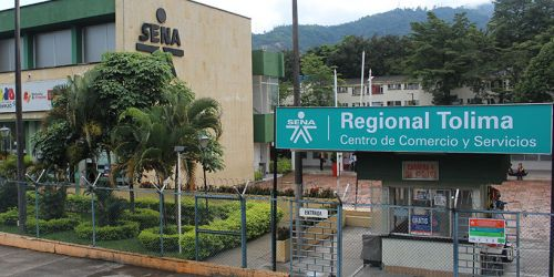 Fachada SENA - Centro de Comercio y Servicios Ibagué