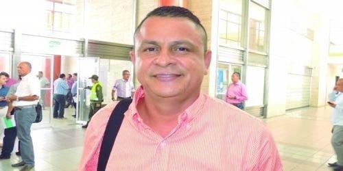 Ilber Beltrán, alcalde Venadillo