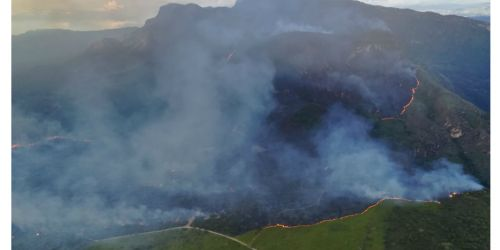 Incendio forestal Nilo, Cundinamarca 13 Julio 2018