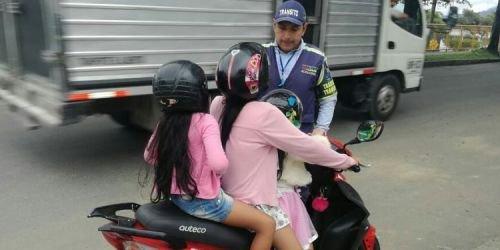 Infracción motociclista Ibagué
