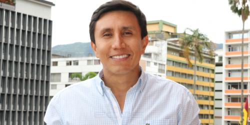José Adrián Monroy, gerente Lotería del Tolima