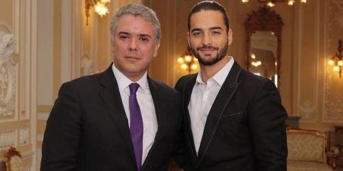 Presidente Duque y Maluma