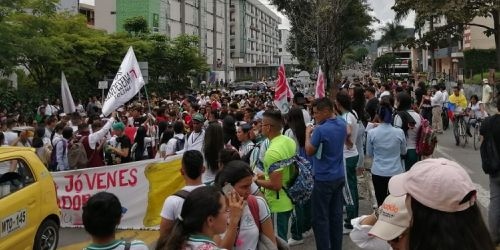 Protesta calle 60 Ibagué