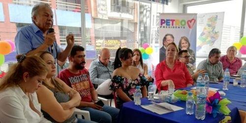 ASI, Alianza Verde, Unión Patriótica y el Partido Liberal del Tolima con Gustavo Petro 05 de junio