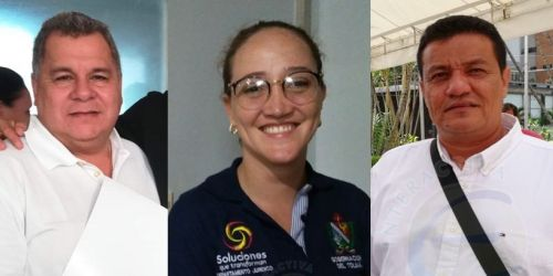 HD- Dora Montaña, alcalde Prado, Álvaro González, y alcalde de Mariquita, Alejandro Galindo Rincón