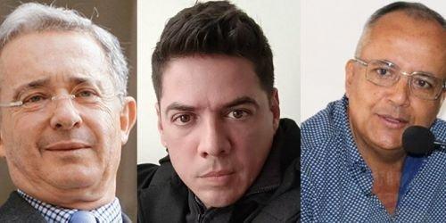 HD- Gobernador Barreto, Álvaro Uribe Vélez y Carlos Fernando Uribe Jaramillo