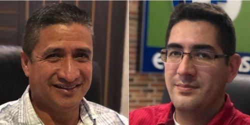 Rodrigo Páez y Disraelí Labrador, el primero abogado y ex secretario de Gobierno de Ibagué y el segundo, ex candidato a la Cámara de Representante.