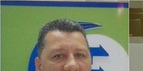 Presidente de la Asamblea departamental del Tolima, Edwin Berrío y secretario del Interior, Ricardo Orozco.