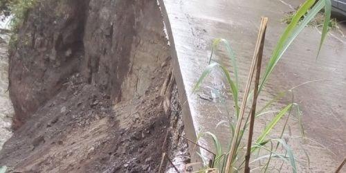 Vía en mal estado Ibagué-Payandé