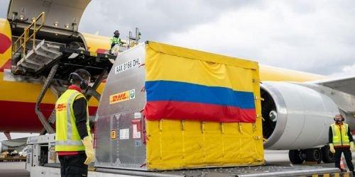 Vacunas llegan a Colombia